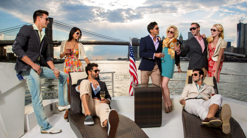 New York Luxury Private Yacht Charters & Hudson River Cruises NJ