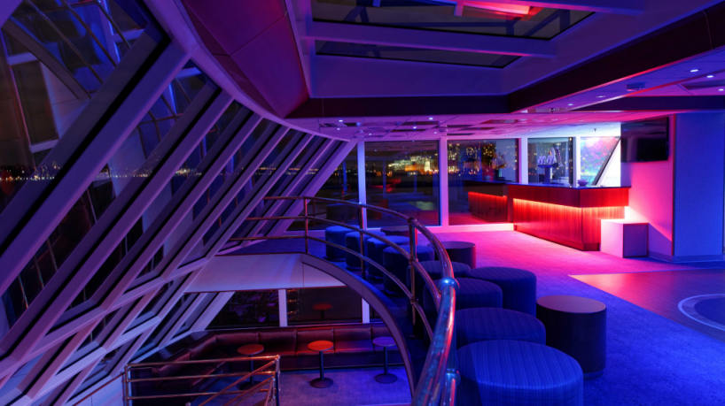 Hornblower Infinity Aft Bar and Lounge