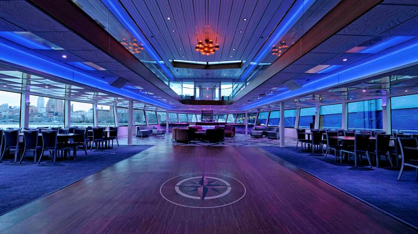 Hornblower Infinity 2nd Deck Bar and Lounge