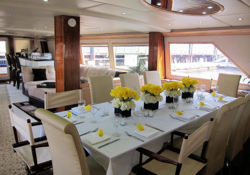 New York City Luxury Yacht Justine Luxury Motor Yacht