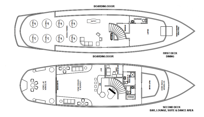 Lexington Deck Plan