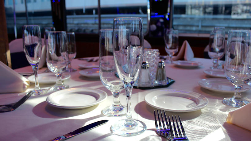Majestic Princess Table Setting