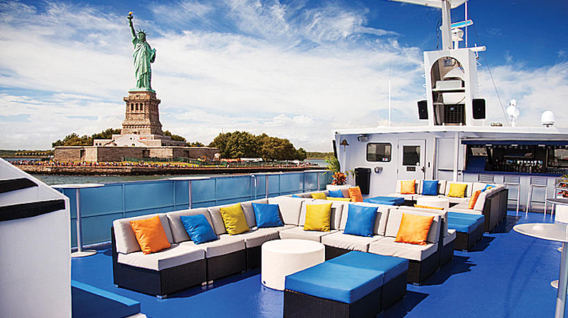 Charter Yacht Spirit of New Jersey 1st Deck