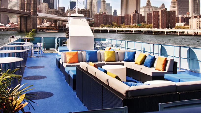 Charter Yacht Spirit of New Jersey Sun Deck