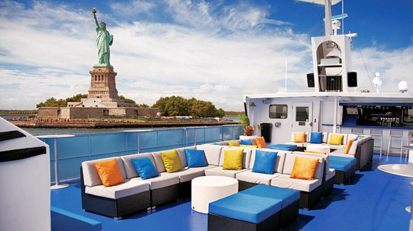 Charter Yacht Spirit of New York Open Air Observation Deck